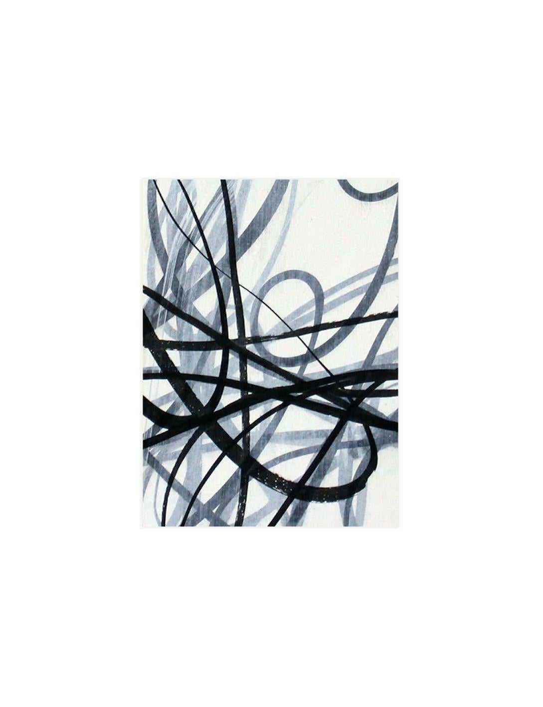 Taking Notes 2 - Graphite on Archival Paper - Abstract Contemporary