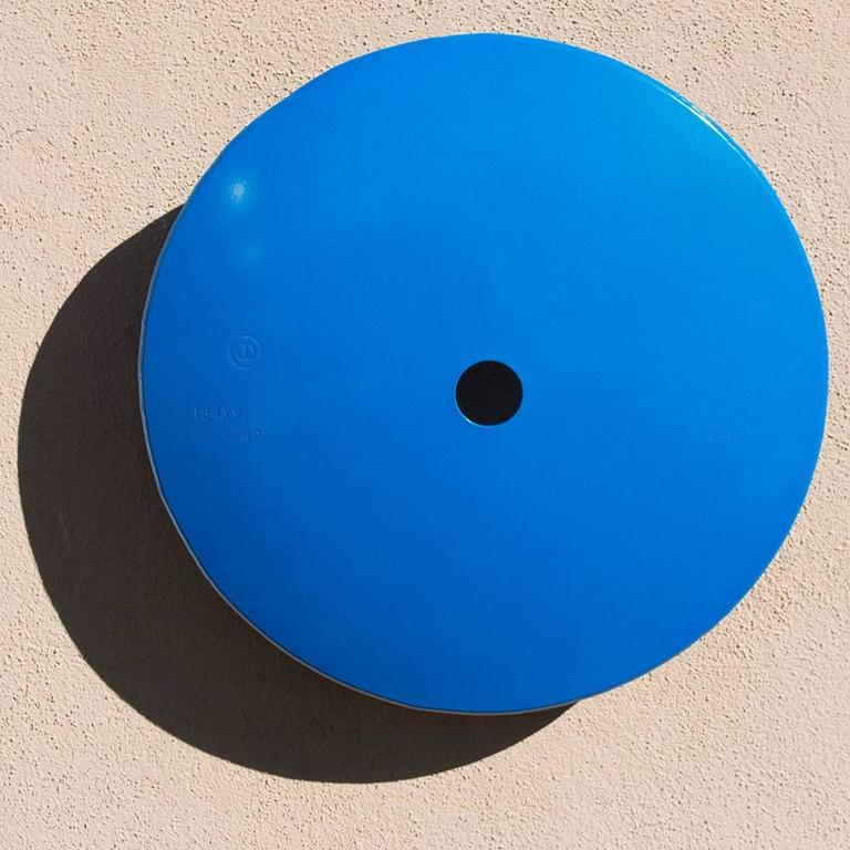 Terrace Disk, metallic blue