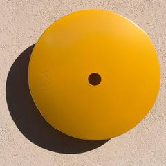 Terrace Disk, Metallic Yellow