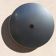 Terrace Disk, metallic steel