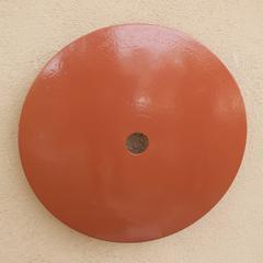 Terrace Disk, terra cotta