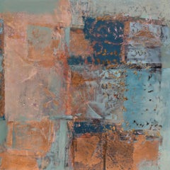 Copper Abstract Paintings