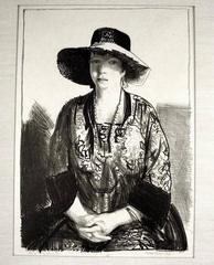 The Black Hat (Emma in a Black Hat)