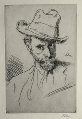 Self Portrait with Hat