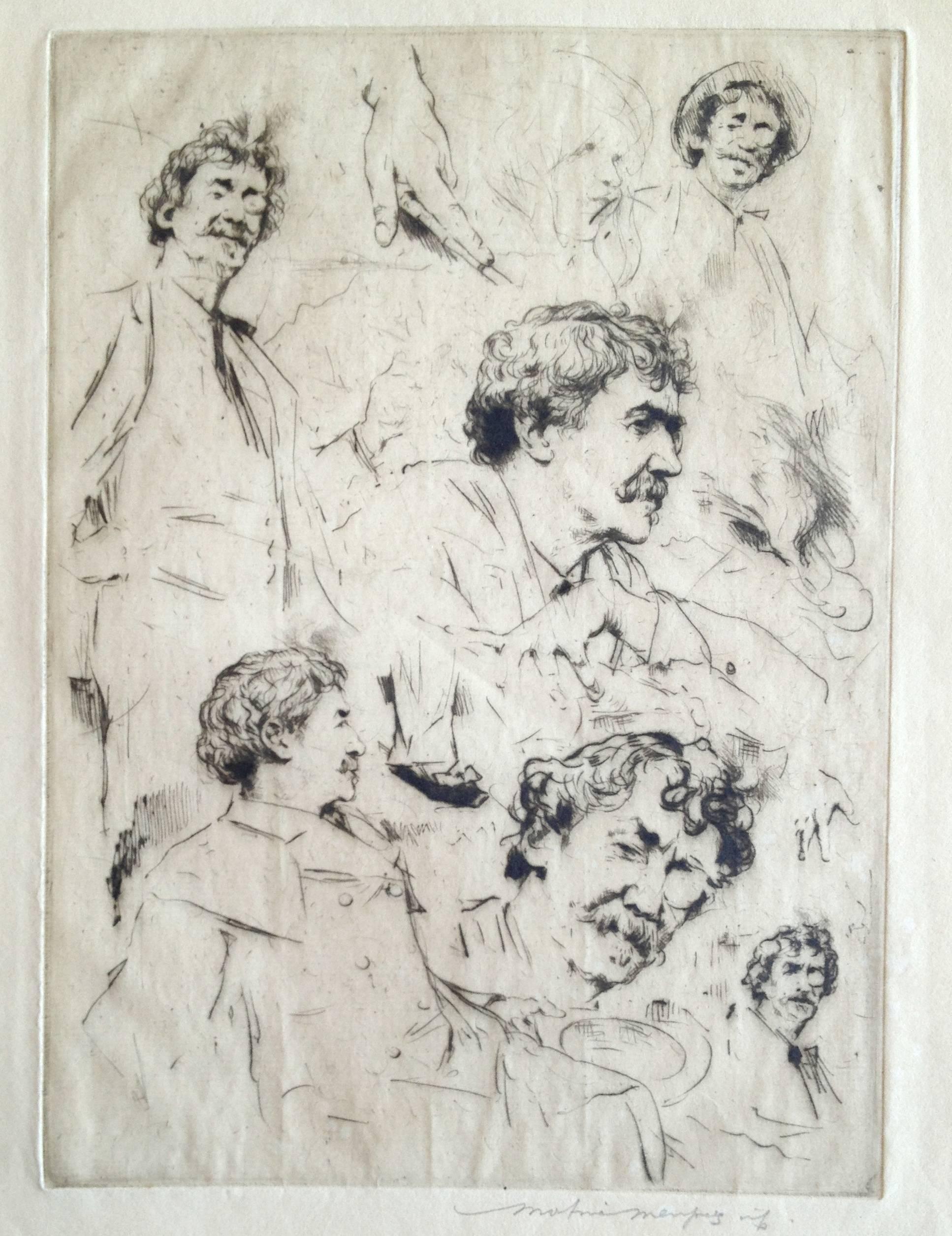 Whistler Portrait No. 7 (Six Faces of Whistler)