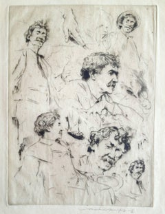 Whistler Portrait No. 7 (Six Faces of Whistler)