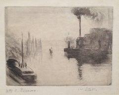 L'île Lacroix, à Rouen