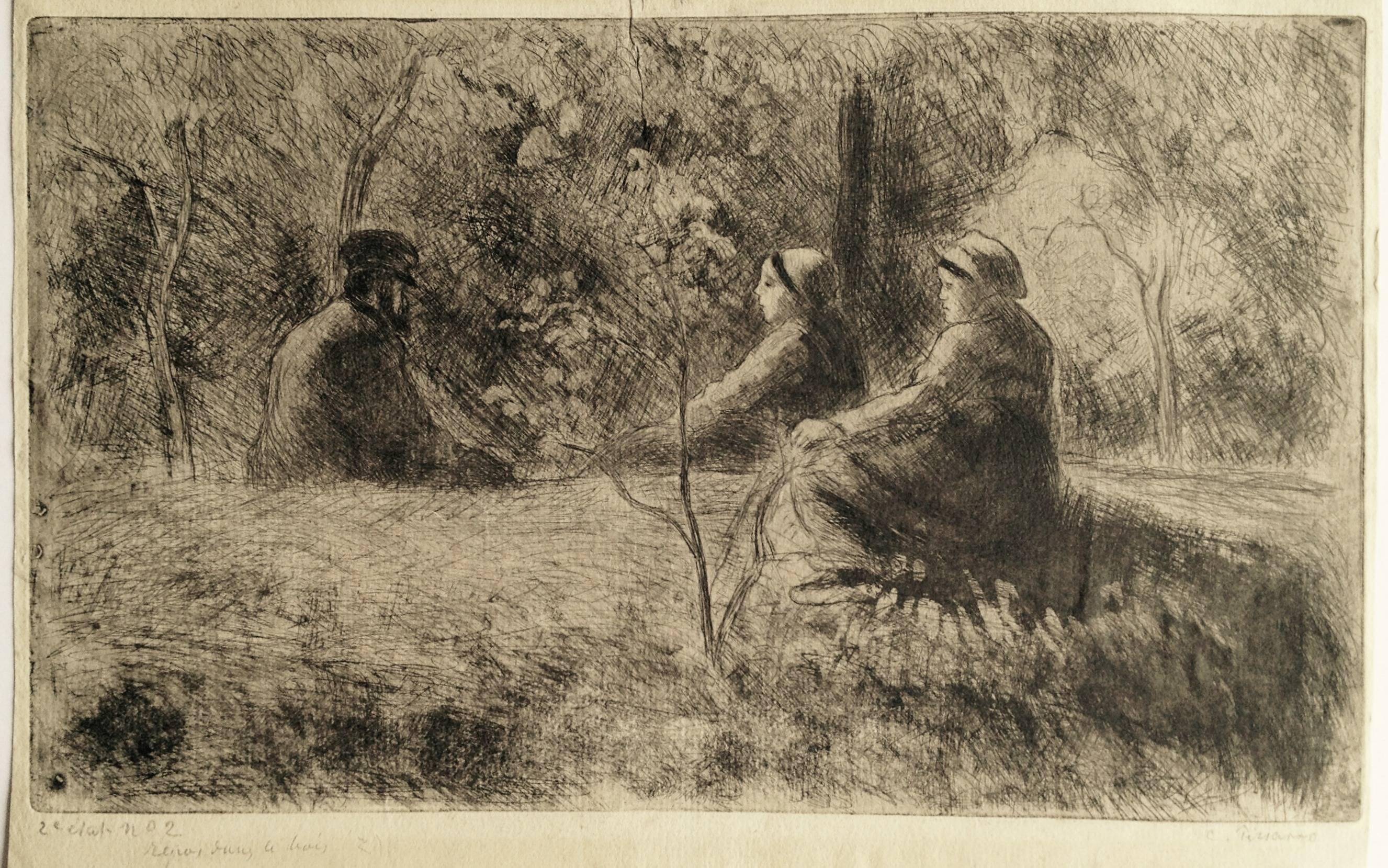 A Peaceful Sunday in the Woods (Repos du  Dimanche dans le Bois)