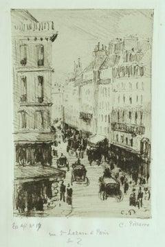 Rue Saint-Lazare à Paris