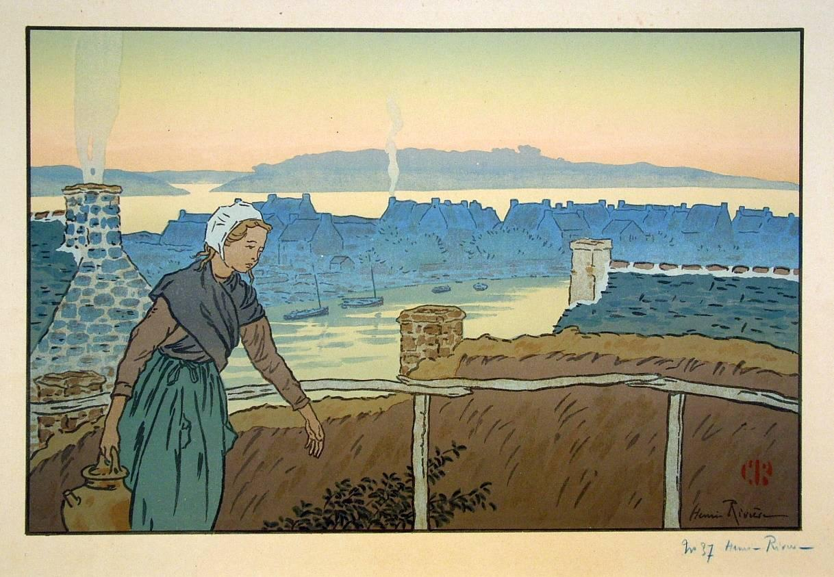 Loguivy le Soir (Loguivy at Evening)