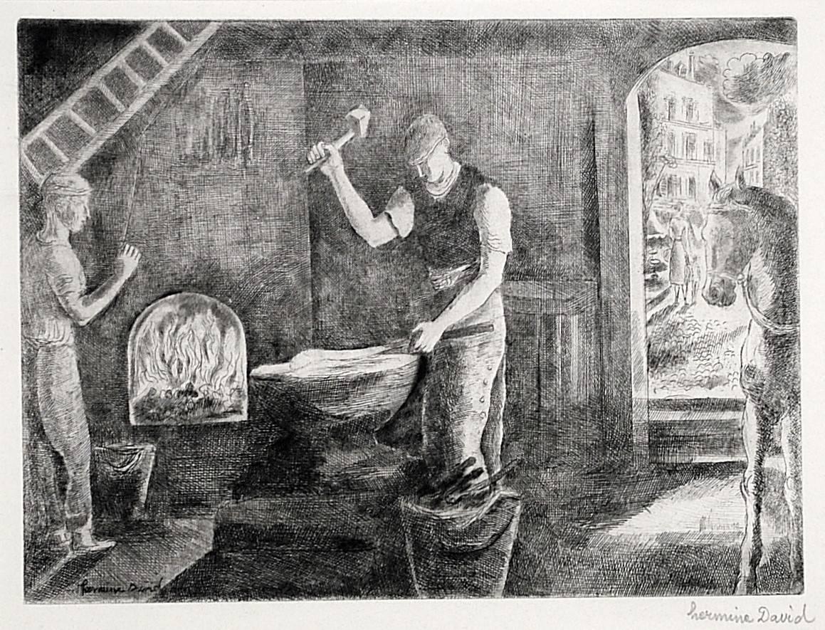 Marechal Ferrant (The Blacksmith)