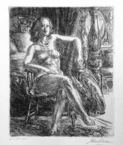 Nude with Furniture