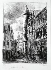 Rue Saint-Romain, à Rouen, 2nd Plate
