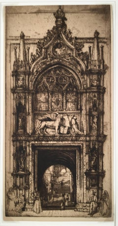 Doorway of the Doges, Venice