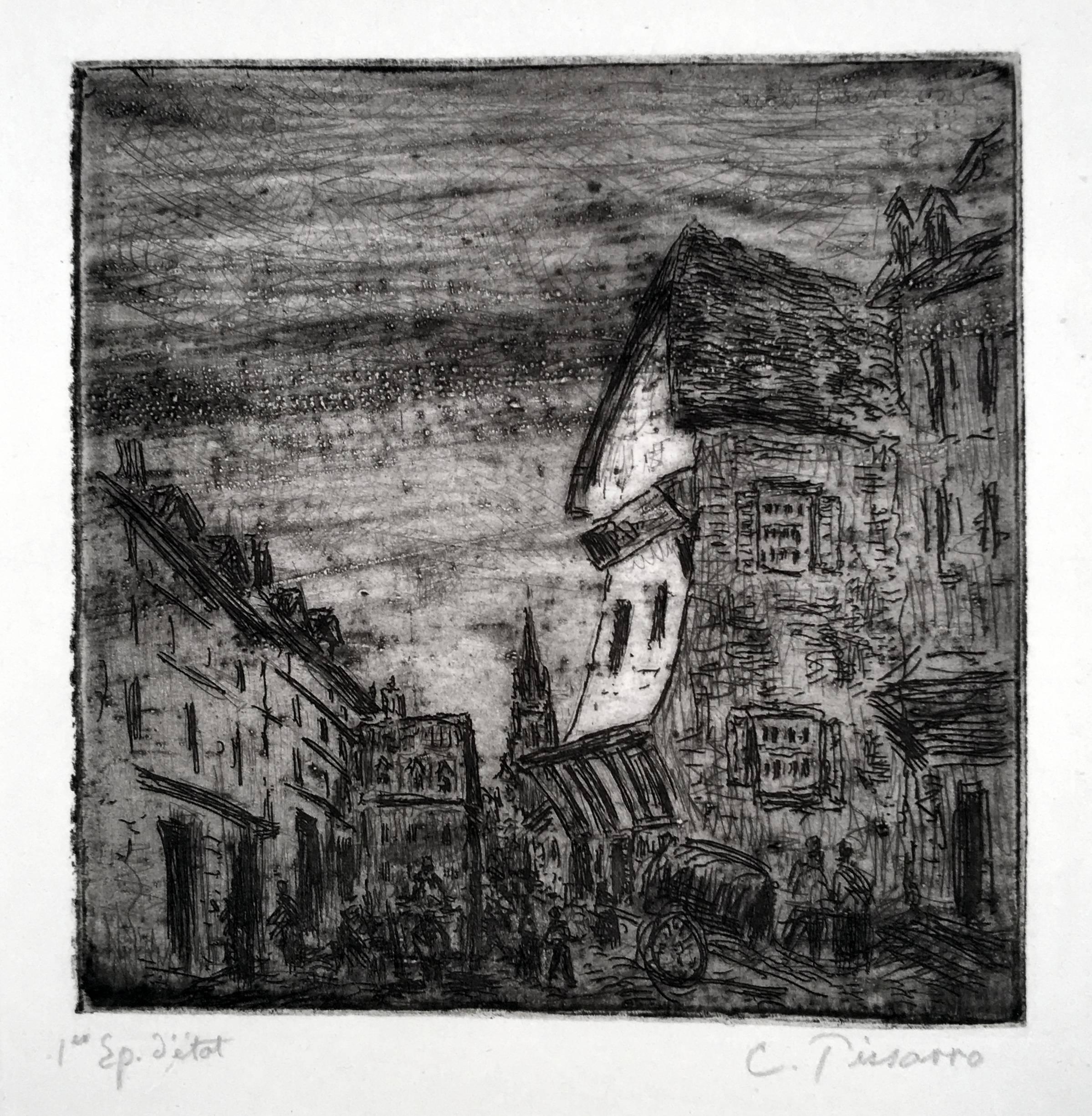Vielle Rue a Rouen (Rue Malpalue)
