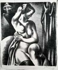 Lithograph Nude Prints