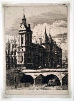La Tour de L'Horloge (The Clock Tower, Paris)