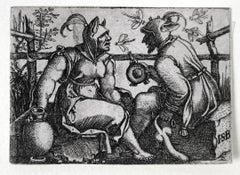 Two Fools (or Fool and Foolish Woman)