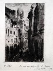 Une Rue a Rouen (Rue des Arpents)