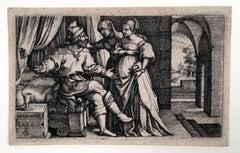 Abraham and Sarah (Sarah Presenting Hagar to Abraham)