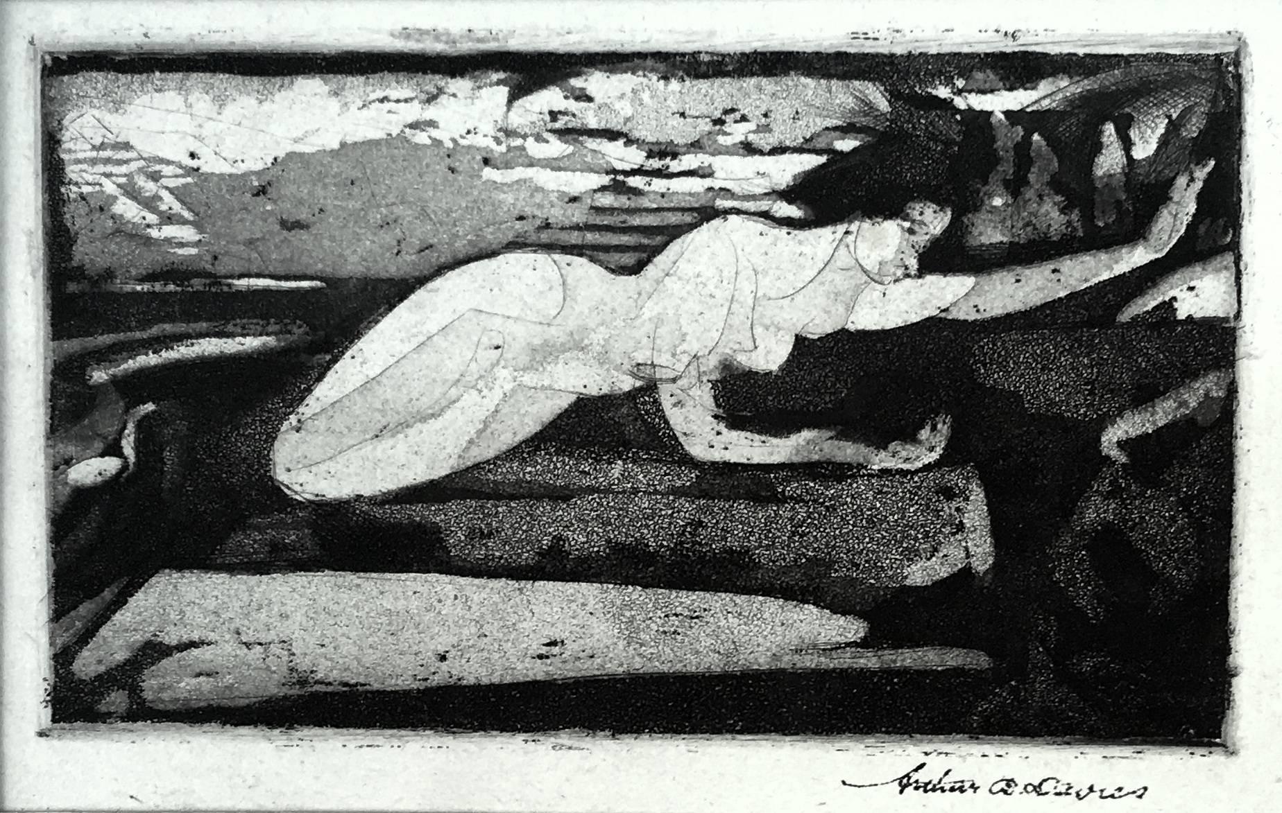Resurrection (aka Flying Figures; Border of the Lake)