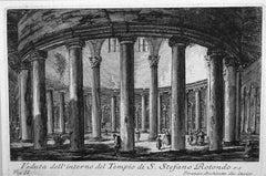 Interior view of the Church of San Stefano Rotondo