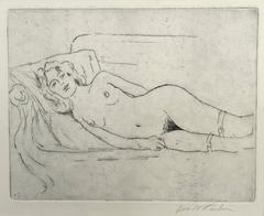 Nude on Chaise