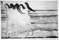 Sea Maidens (or, Sunshine; Girls on the Beach)