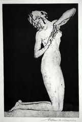 Dawn (or, Kneeling Figure)