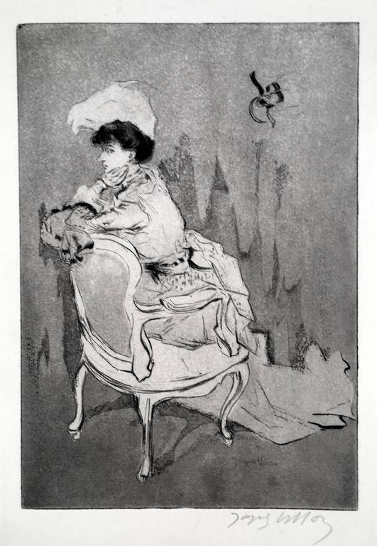La Parisienne, (tournee a gauche, petite planche)