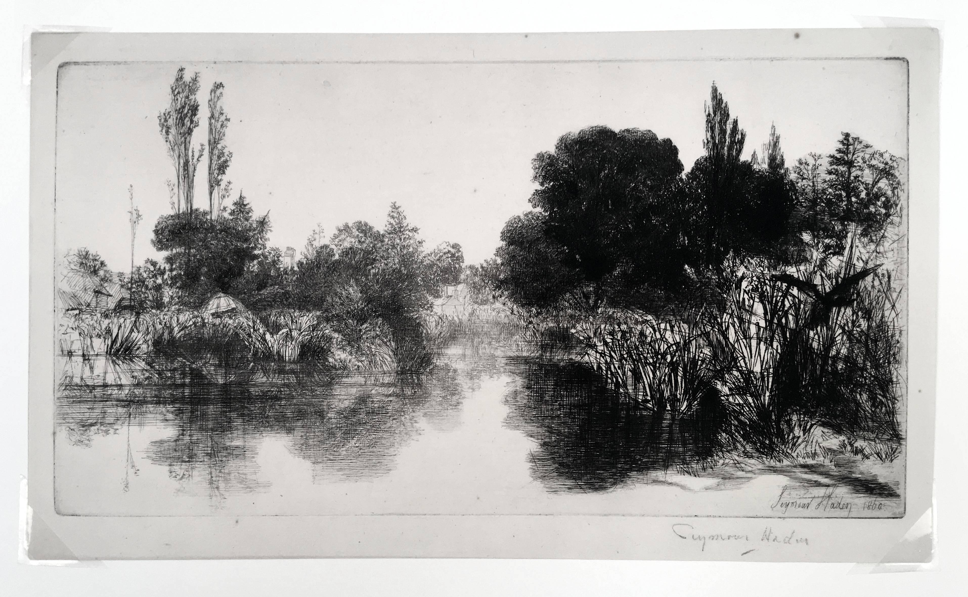 Shere Mill Pond II (Large Plate)