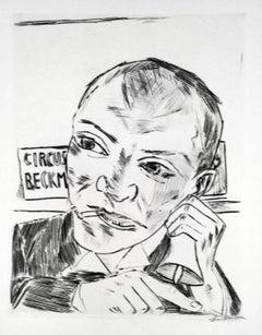 The Barker (Self Portrait)