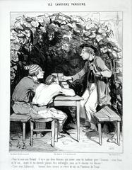 Honoré Daumier - A Toast!