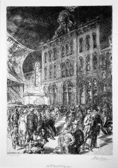 Fourteenth Street, The Wigwam (also known as Tammany Hall)