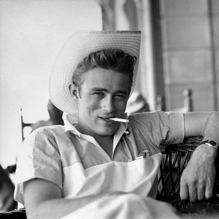 james dean black and white painting - photo #44