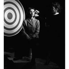 Audrey Hepburn on Set