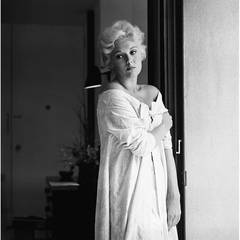 Kim Novak at Home in Los Angeles
