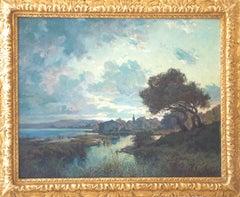 Paysage (Landscape along the Somme River, France)