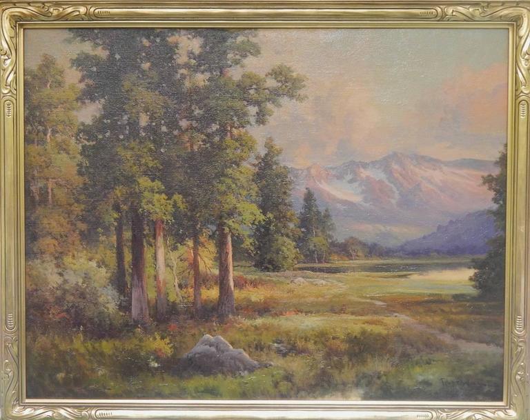 Robert William Wood Sunset In The Sierra S California