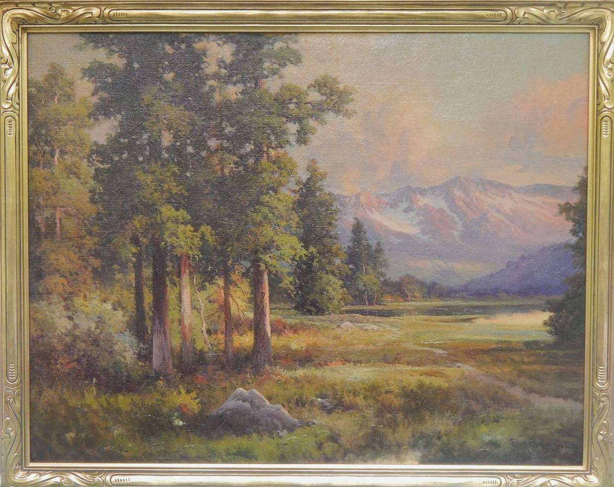 Sunset in the Sierra's (California) 1942