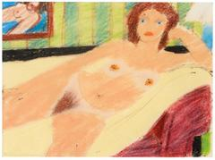 Study For Red Head Nude #7820