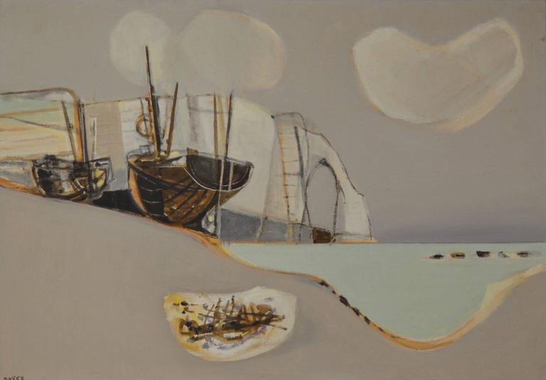 Etretat (Sailboats Along the Coast)