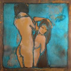 Duo (two nude women)