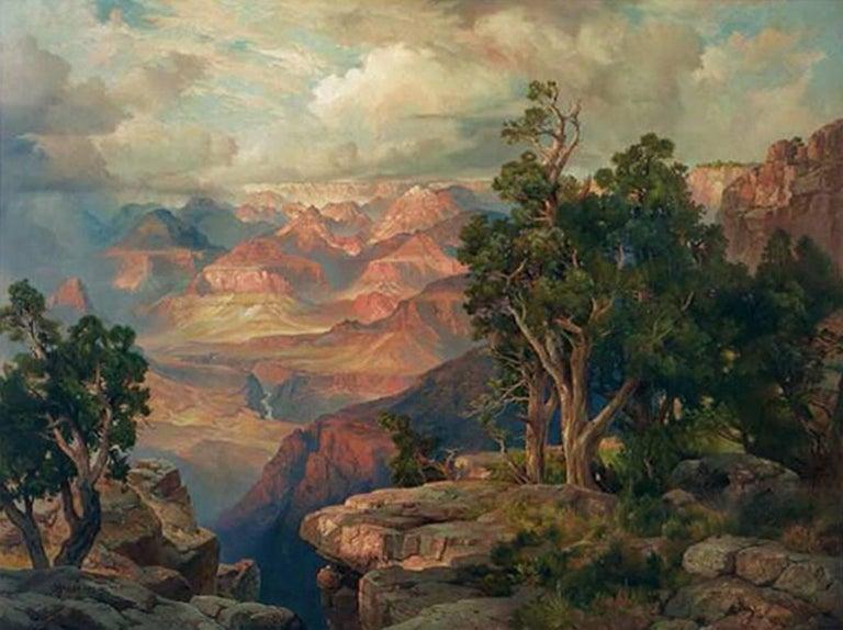 Grand Canyon of Arizona from Hermit Rim Road