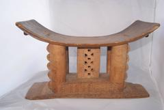 Early 20th century Ashanti African Stool