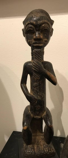 AFRICAN BAULE SEATED FIGURE