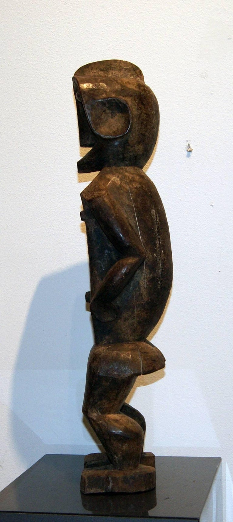 Unknown Lobi Male Figure Wood Sculpture For Sale At 1stdibs