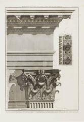 Pantheon Interior Corinthian Pilaster