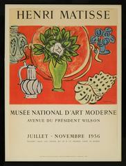 Original Matisse Exhibition Poster