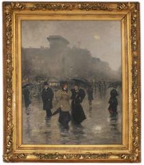 Evening Rain in Paris